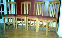 Kelly's Mission Oak Chairs